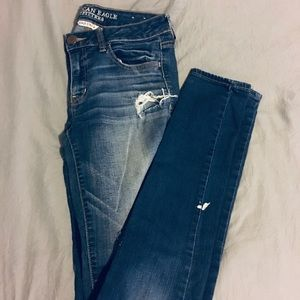 AE Jeggings size 8 X-long